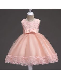 a17be341da6e  36.9 Burgundy Short Flower Girl Dress With Floral Hem for Wedding  QX-716  - GemGrace.com. Baby Dress ClothesCute ...
