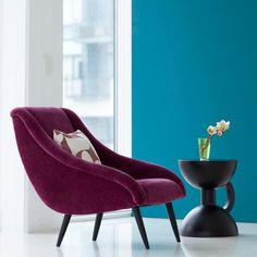 Winter sales the decoration and design resulted up to - Side House Bed Settee, Wingback Chair, Armchair, Luxury Sofa, Luxury Interior, Interior Design, Salons Violet, Deco Cool, Velvet Sofa
