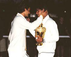 Epic Wimbledon final. #tennis #Nadal #Federer