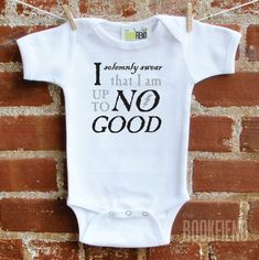 Marauder's Map Onesie | 33 Perfect Gifts For Book-Loving Babies