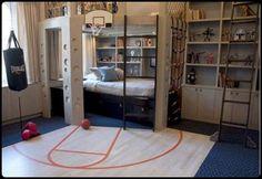 Cool Sport Teenage Boy Bedroom Design, Gallery Decorating Teen
