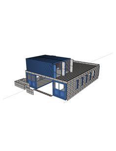 modular/tile  concrete   exterior  for  thermal  mass