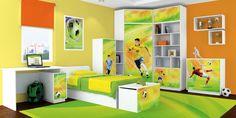 Baby- en Kinderkamer Voetbal Mix