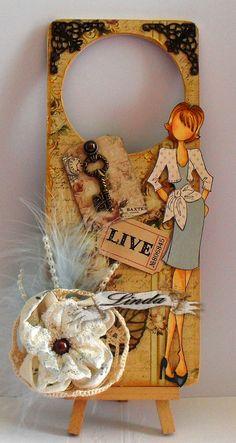 Linda's Crafty Piece of Heaven: Natalie - Julie Nutting Prima Doll