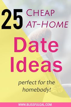 At Home Date Ideas for the Homebody   Cheap Date Ideas   Easy Date Nights   Fun date ideas   Movie date night