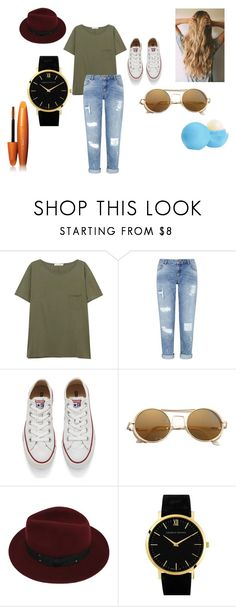 """""""What we do for our Boyfriends;)"""" by allylove24 ❤ liked on Polyvore featuring rag & bone/JEAN, Miss Selfridge, Converse, Sans Souci, Larsson & Jennings and Eos"""
