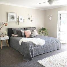 99 White And Grey Master Bedroom Interior Design 6