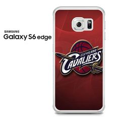 Cleveland Cavaliers Red Samsung Galaxy S6 Edge Case