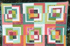 Quartered squares tutorial