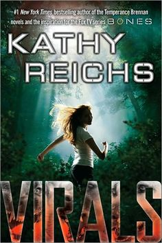 Kathy Reichs (exec producer of the TV series Bones) has started writing a young adult series of books . . . and I like them!!  An article in AARP recently indicated that there are quite a few adults who have taken to reading well written young adult novels.  I think because it keeps us young ;)