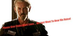 Chibs & His Sexy Voice // Sons Of Anarchy
