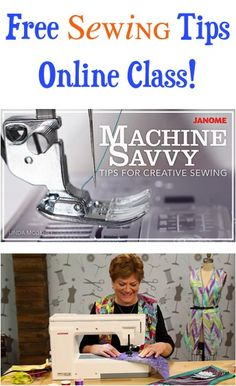 FREE Sewing Tips Online Class!!