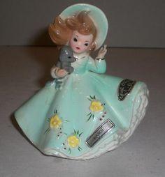 Darling Vintage Josef Originals March Girl Figurine