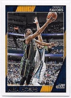 2016-17 Hoops #58 Derrick Favors - Utah Jazz