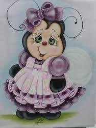 Resultado de imagen para Pintura Tecido Ginger por Lilinha Silva