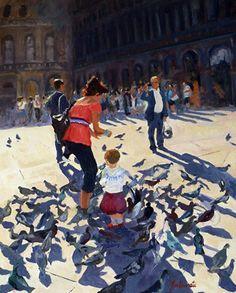 Marian Fortunati, For the Birds