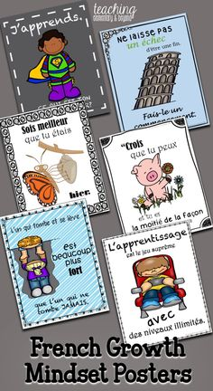 Provide inspiration for for your kids! These growth mindset posters are full of quotes to help motivate and change the perspective of your students! These will look great on your bulletin boards in your classro Inspirational Classroom Quotes, Motivational Quotes For Teachers, Teacher Organization, Teacher Hacks, Teaching Activities, Educational Activities, Teaching Ideas, Growth Mindset Posters, Classroom Displays