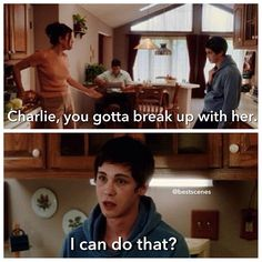 I love his expression X) Logan lerman. Perks of being a wallflower