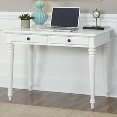 Home Styles Bermuda Writing Desk & Reviews | Wayfair