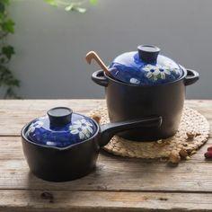 Orchid Series High Temperature Ceramic Casserole Casserole Popular Two Piece Pot