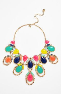 kate spade new york 'amalfi mosaic' statement necklace | Nordstrom