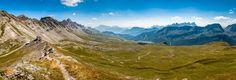 Great View of Passo delle Selle - Costabella Peak (2530 mt) - Dolomites --  Copyright © Mattia Borghesi  www.mattiaborghesi.com
