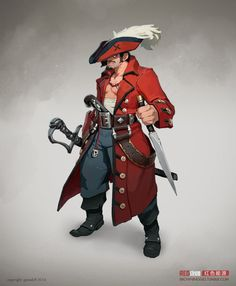 ArtStation - Pirates, Andre Mealha