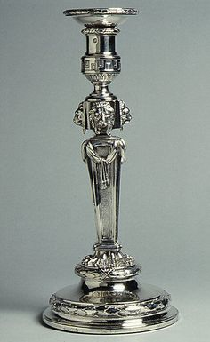 Set of four candlesticks Thomas Heming (active 1745–73) Date: 1771–73 Culture: British, London Medium: Silver