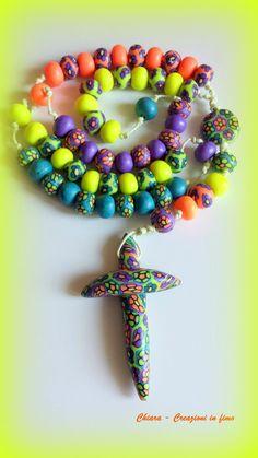 #polymerclay rosary