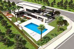 Modern villa for sale in La Nucia - ID 5500575 - Real estate is our passion... www.bulk-partner.com
