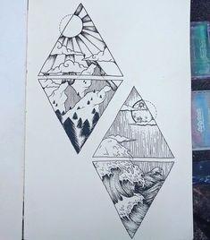 kim tattoo - as deep as the ocean as high as the mountain