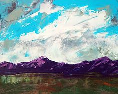 abstract mountains paintings - Google Search