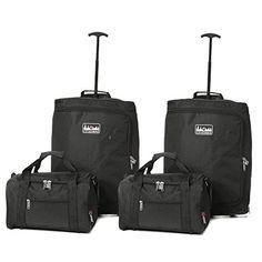 329820c8d 5 Cities carrito para cabina Ryanair y segunda maleta de mano Ryanair, 55  cm,