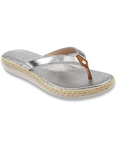 Tommy Bahama - Relaxology� Ionna Leather Flip Flops