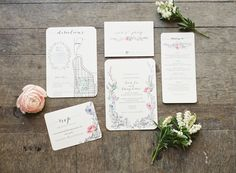#stationery, #botanical  Photography: Judy Pak Photography - judypak.com