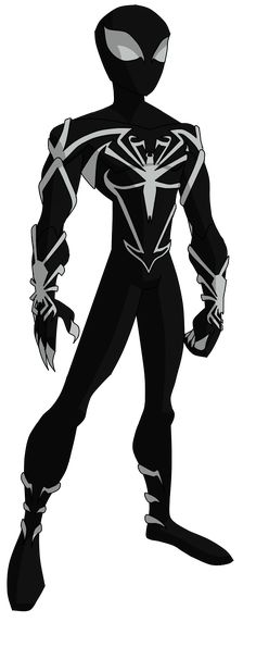 Spectacular Spider-Man Unlimited Black Suit by ValrahMortem