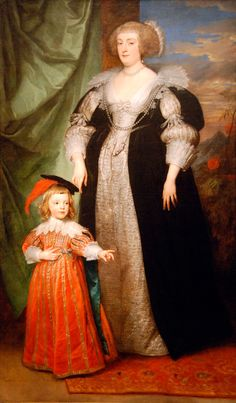 1634 Marie Claire de Croÿ, Duchess d'Havré and child by Sir Anthonis van Dyck (Fine Arts Museums of San Francisco, Legion of Honor Museum - San Francisco, California, USA) From Molly's photostream on flickr