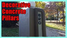 Decorative Concrete Pillars | Resurfacing Concrete Wall Blocks Lake Ozark