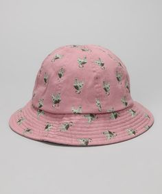 Take a look at this Pink Chicken Bucket Hat by Kangol on #zulily today!