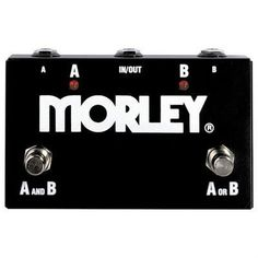 Morley ABY Footswitch Selector / Combiner