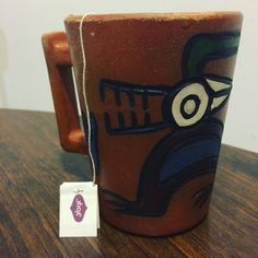 When you're so obsessed with tea you buy a handcrafted mug in Peru to make drinking it more fun. @yogitea @influenster -- #yogitea #contest #tea #peru #travel #chicago #roscoevillage #chicagogram #chicagopics #chicagoblogger #windycitybloggers #handcraft