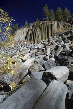 Devils Postpile National Monument - Mammoth Lakes, CA