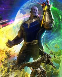 Thanos the Mad Titan from Avengers: Infinity War