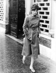 Audrey Hepburn photographed by Araldo di Crollalanza in Rome, c. 1971.