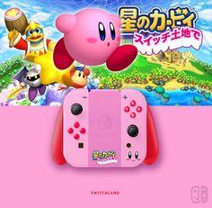Joy Con Kirby. If U like it, follow me on Twitter ! joycon, nintendo switch, dock, joy-con