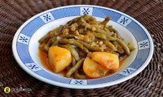 Φασολάκια με πατάτες λαδερά - gourmed.gr