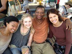 Sonequa, Emily, Lawrence & Lauren