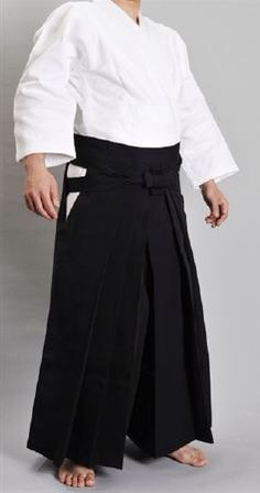 Tenue complète de maître d'aïkido