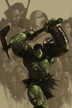 """Because you thought you were stronger than the Hulk? No one is stronger than the Hulk! World War Hulk, Planet Hulk, Comic Book Characters, Marvel Characters, Comic Books Art, Comic Art, Marvel Comics Art, Hulk Marvel, Marvel Heroes"