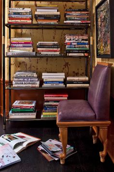 KELLY WEARSTLER | INTERIORS. Hillcrest Estate, Library